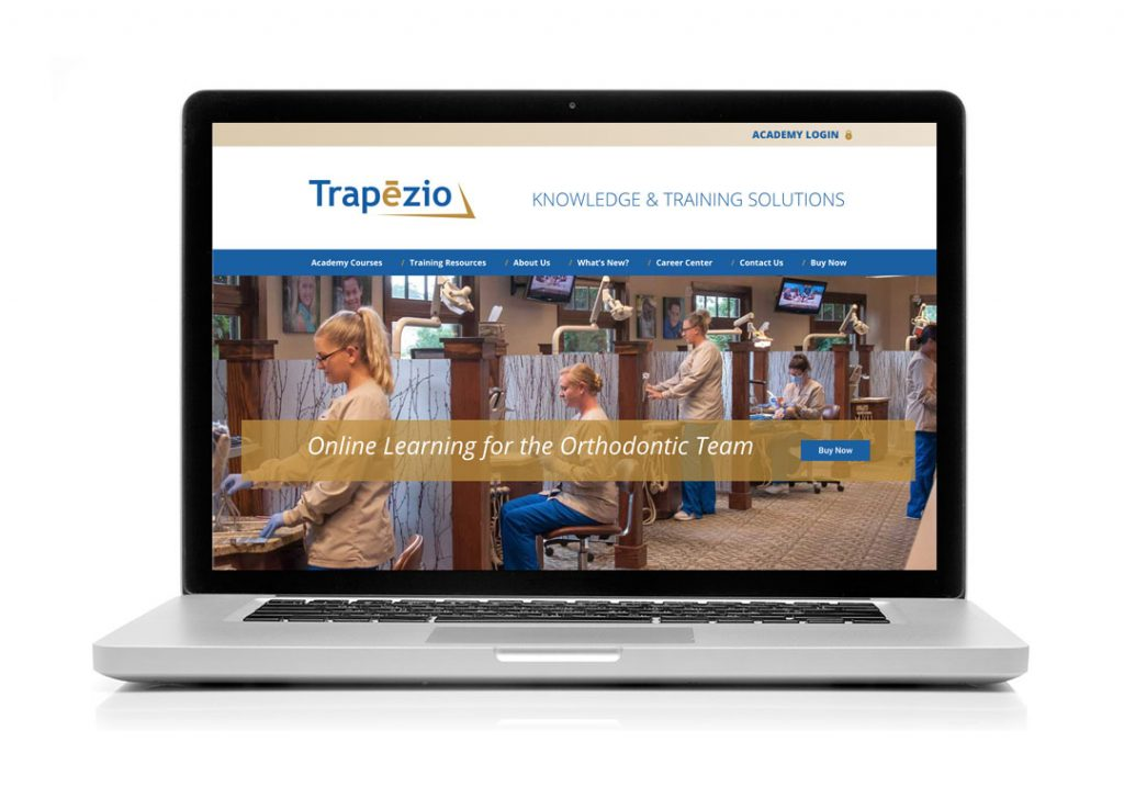 Trapezio Website Launch